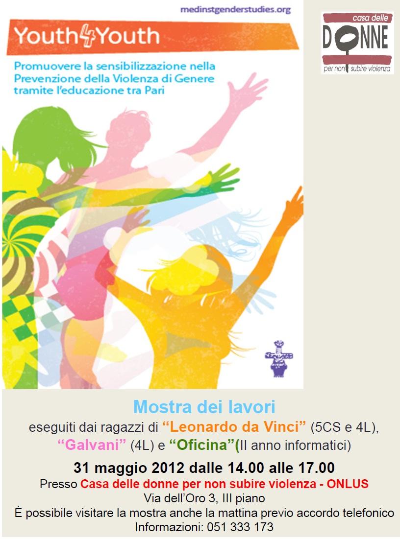 31/05/12:Y4Y, mostra alla Casa delle donne