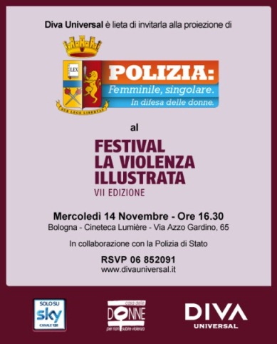 14/11/2012: Cinema Lumiere, festival la violenza illustrata