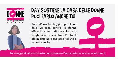Day Ristoservice sostiene la Casa delle donne