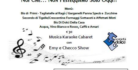 """8 Marzo: Cena a favore della Casa delle donne presso """"Il Pescatore"""", Anzola dell'Emilia"""