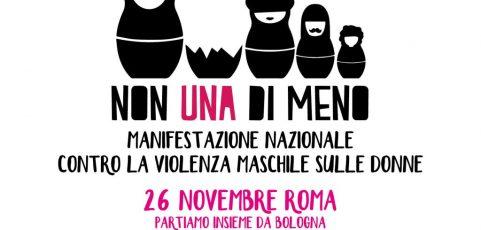 NON UNA DI MENO. Tutte insieme contro la violenza maschile sulle donne