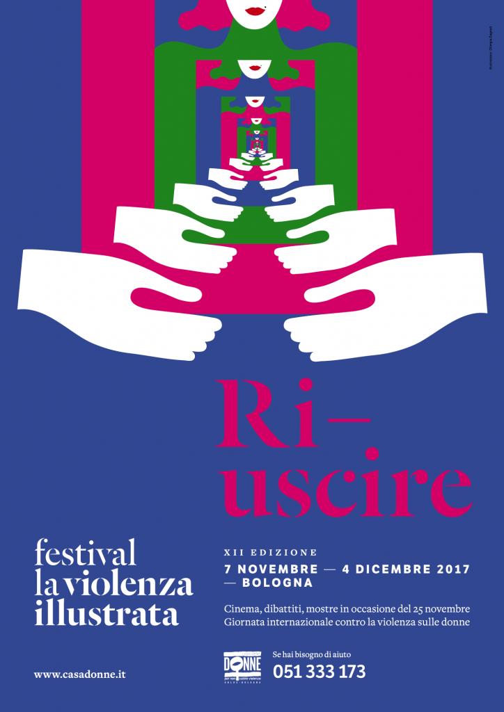 Locandina Festival La violenza illustrata 2017 RI-USCIRE