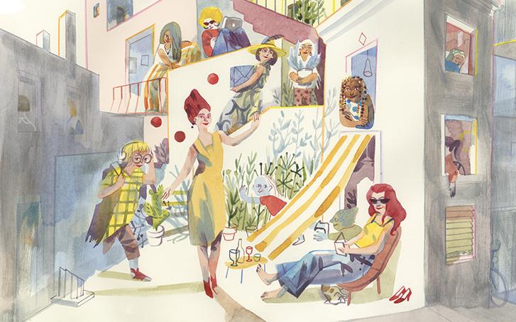 Immagine Sara Colaone Festival La Violenza Illustrata 2020